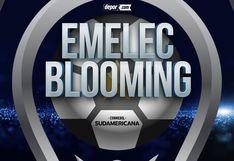 Desde Guayaquil: Emelec vs. Blooming EN DIRECTO para conocer al clasificado de la Fase 2 de Copa Sudamericana | DirecTV Sports