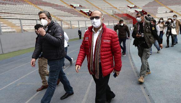 Ministro de Salud ansioso por el retorno del fútbol (Foto: GEC)