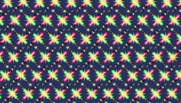 Tienes que hallar los 2 sables de luz más cortos en la imagen. (Foto: Noticieros Televisa)