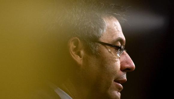 Josep Maria Bartomeu es presidente del club desde enero del 2014. (Foto: AFP)