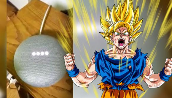 Dragon Ball: truco para hacer que Google Assintant se transforme en Super Saiyajin