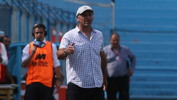Carlos Bustos dirigió la temporada 2020 a Melgar de Arequipa en la Liga 1. (Foto: GEC)