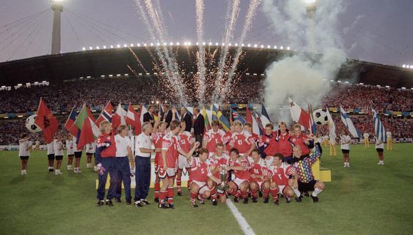 Dinamarca se consagró campeón de la Eurocopa 1992. Fue la primera y la única hasta el momento. (Foto: AP)