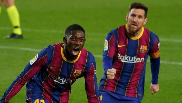 Ousmane Dembélé llegó al Barcelona en 2017 desde el Dortmund. (Getty)