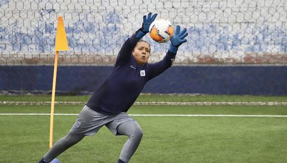Annie del Carpio lleva siete partidos sin recibir un gol en la Liga Femenina.