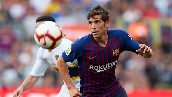 Sergi Roberto no juega un partido con la Selección española desde junio del año pasado. (Foto: EFE)