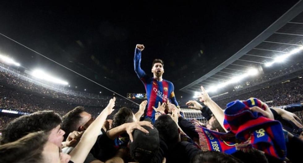 Lionel Messi y Sergi Roberto en 2016. (Foto: Twitter)