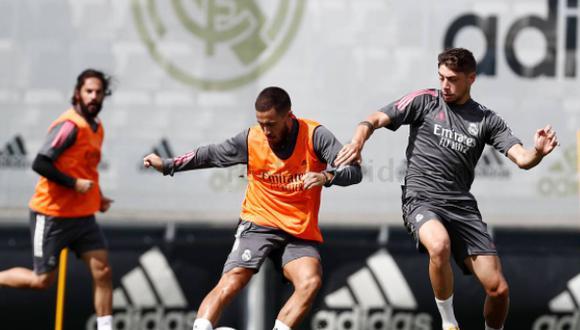 Eden Hazard aún no ha debutado esta temporada. (Foto: Real Madrid)