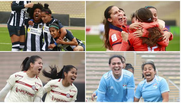 Alianza Lima, Universitario, Sporting Cristal y César Vallejo van por el título de la Liga Femenina. (Foto: LFP)