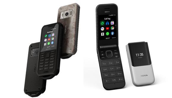 Conoce los nuevos celulares que HMD Global resucita: los Nokia 110 y 800, además del dispositivo con tapita. (Foto: Nokia)