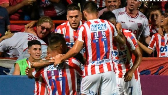 Unión perdió 2-0 contra Atlético Mineiro pero pasó a la Fase 2 de la Copa Sudamericana