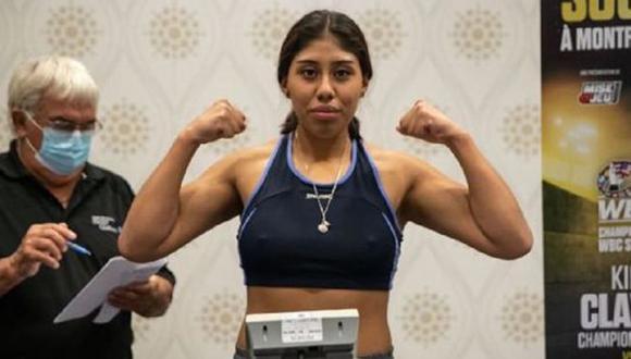 Boxeadora mexicana de 18 años falleció tras estar varios días en coma producto de los golpes de su rival. (Difusión)