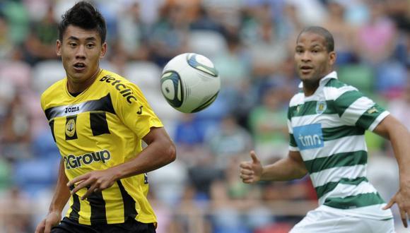 Alberto Rodríguez defendió los colores del Sporting Club de Portugal. (Foto: AFP)
