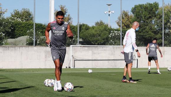El campeón de España volvió a los entrenamientos. (Foto: Real Madrid)