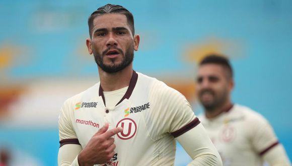 Jonathan Dos Santos tiene contrato con Universitario hasta diciembre de este año. (Foto: GEC / Liga 1)
