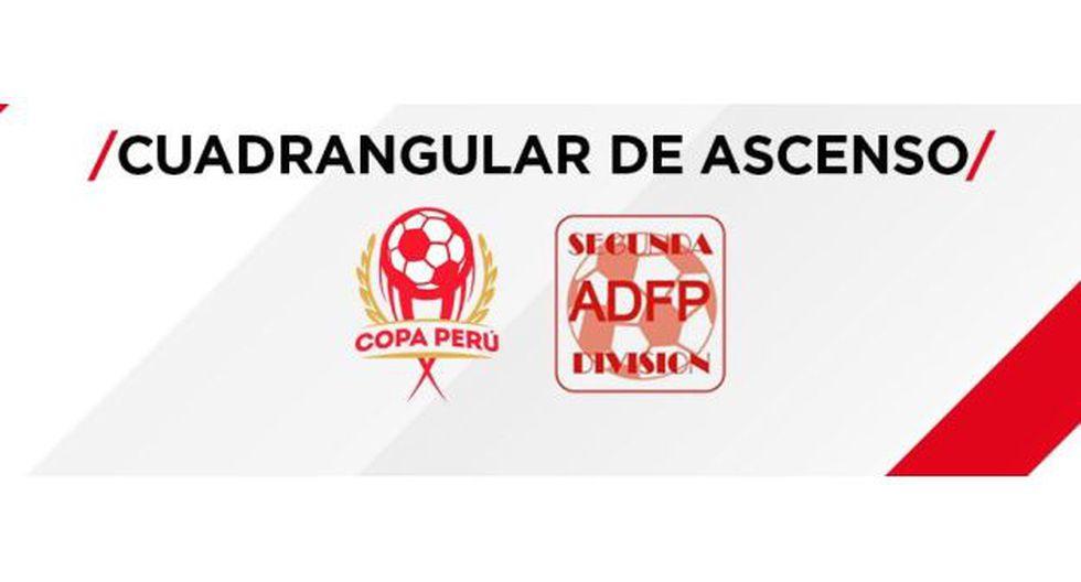Así se jugará el Cuadrangular Final por el ascenso a la Primera División 2019. (Foto: FPF)