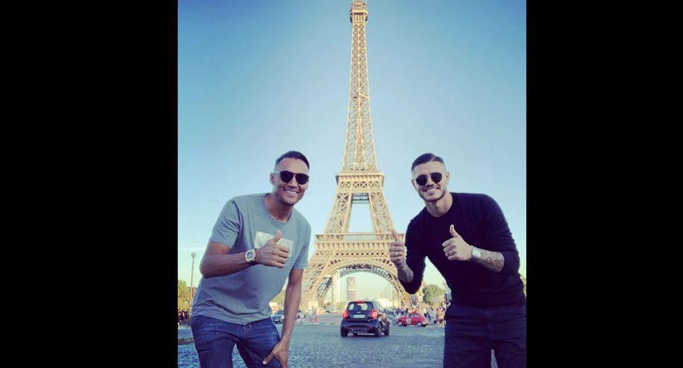 Keylor Navas y Mauro Icardi llegaron esta temporada al PSG.