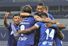 El 'Bombillo' hizo respetar la casa: Emelec venció 2-0 a Macará y clasificó a la siguiente fase de la Sudamericana