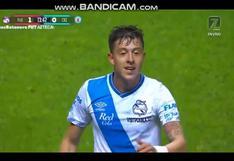 Gol polémico: Parra anotó el 1-0 del Cruz Azul vs. Puebla por Liga MX [VIDEO]