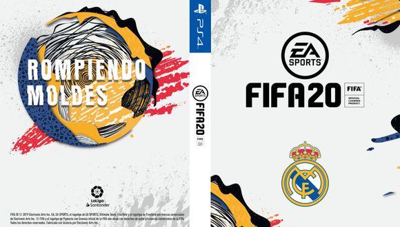 Portada del Real Madrid para FIFA 20 (LaLiga)