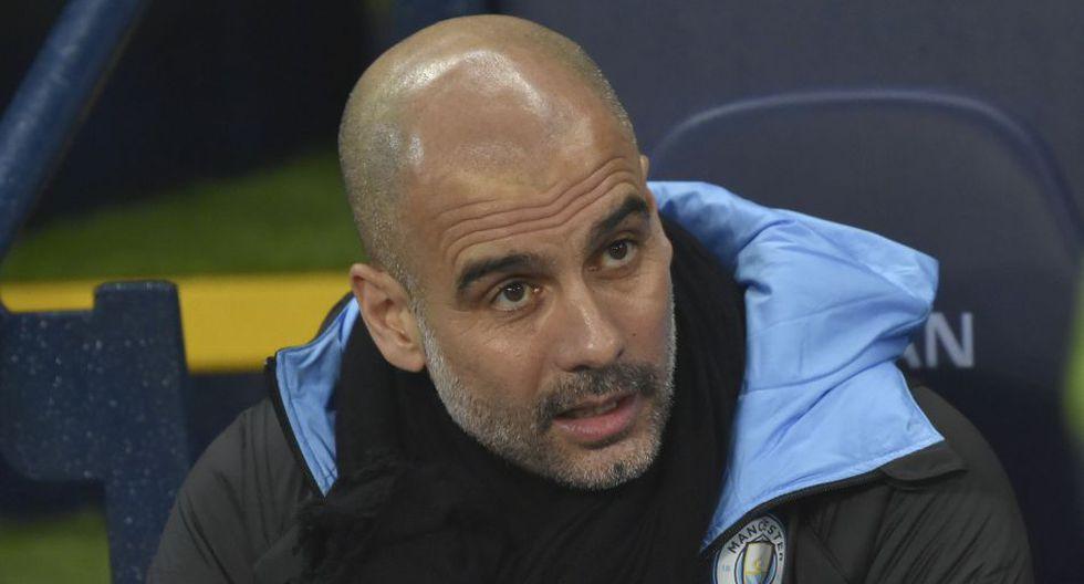Pep Guardiola llegó al Manchester City en la temporada 2016/17. (AP)
