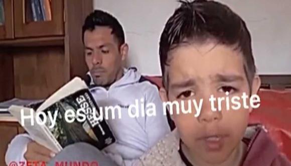 El pequeño Valentín se volvió viral por exigirle a su padre que quiere tener hermanos. | Foto: Zeta Mundo