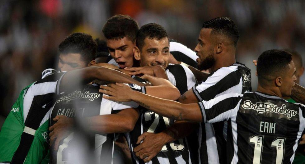 Botafogo goleó a Sol de América y se metió a octavos de Copa Sudamericana 2019. (Twitter)