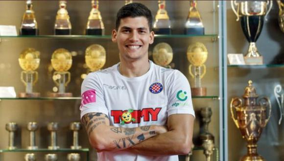 Iván Bulos pasó por Deportivo Municipal y Sporting Cristal, en el fútbol peruano. (Foto Difusión)