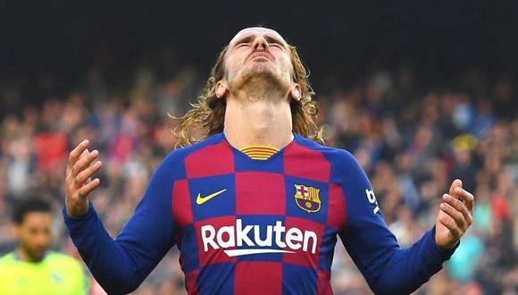 Antoine Griezmann juega en el FC Barcelona desde la temporada anterior. (Foto: AFP)