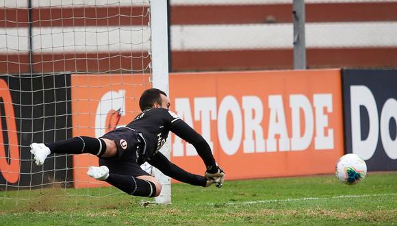 Carvallo tapó dos penales en el último partido de Universitario. (Foto: Liga 1)