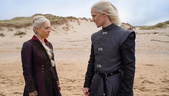 """""""Juego de Tronos"""": primeras imágenes de """"La Casa del Dragón"""", la precuela de la serie de HBO. (Foto: captura)"""