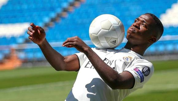 Vinicius Junior llegó al Real Madrid en 2018 desde el Flamengo de Brasil. (Foto: Real Madrid)