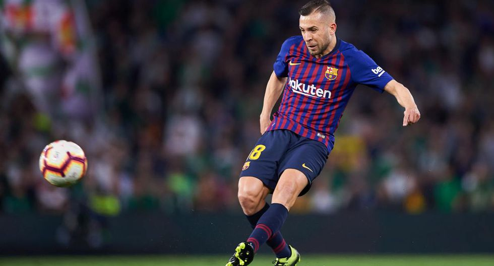 Jordi Alba. (Foto: Getty Images)
