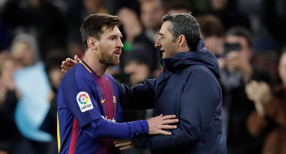 Lionel Messi y Valverde no ganaron la Champions League juntos en Barcelona. (Foto: Getty Images)