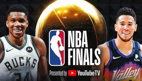 Bucks y Suns definirán al campeón de la temporada 2020-21 de la NBA. (Foto: NBA)