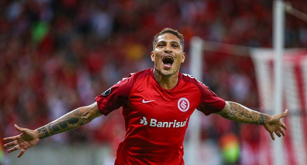 Paolo Guerrero llegó al fútbol brasileño en 2012 desde el Hamburgo de Alemania. (Getty)