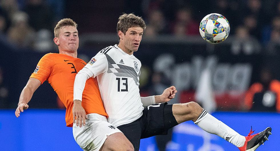 Holanda empató 2-2 con Alemania y clasificó a la etapa final de la Liga de Naciones. (Foto: Getty Images)