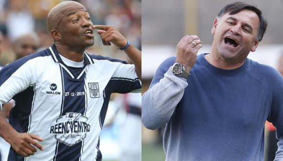 Sáenz criticó llegada de Bustos a Alianza Lima. (Foto: GEC)