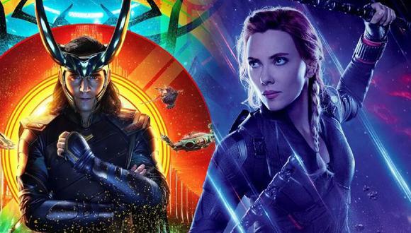 """Marvel publica estos dos nuevos clips de """"Loki"""" y """"Black Widow"""""""