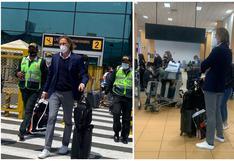 Con miras a las Eliminatorias: Ricardo Gareca llegó a Perú procedente de Argentina