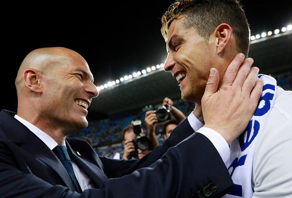 Cristiano Ronaldo suena en el Real Madrid para la siguiente temporada. (Getty)