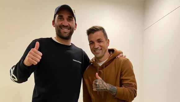 Pablo Míguez y Gabriel Costa se reunieron, previo al viaje de 'Gabi' a Chile. (Foto: Instagram)