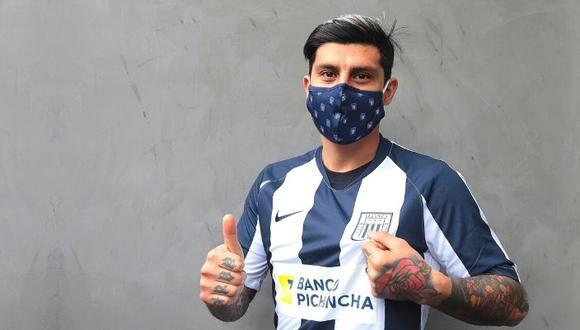 Rubio estará apto pronto para jugar en Alianza Lima. (Foto: Prensa AL)