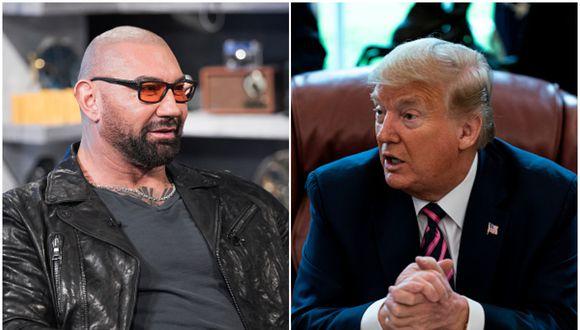 Batista le dejó un fuerte mensaje a Donald Trump en Twitter. (Foto: Getty Images)