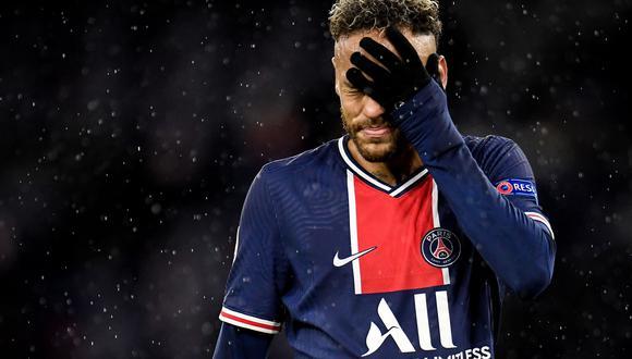 Neymar renovó este fin de semana su contrato con PSG hasta la temporada 2025. (Foto: AFP)