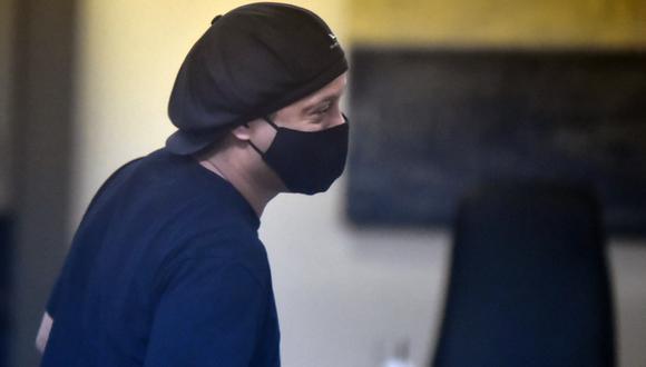 El exjugador estuvo 171 días privado de su libertad. (Foto: AFP)