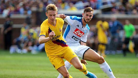 Barcelona enfrentará a Napoli por los octavos de final de Champions League. (Getty)