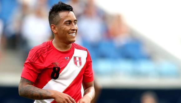 Christian Cueva debutó en la Selección Peruana en 2011. (Foto: EFE)