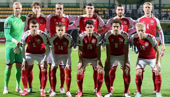 Selección de Dinamarca aseguró su boleto a la Copa del Mundo Qatar 2022. (Foto: EFE)