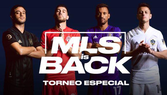 La MLS se reiniciará el 8 de julio con un torneo especial con formato similar al del Mundial. (Foto: MLS)